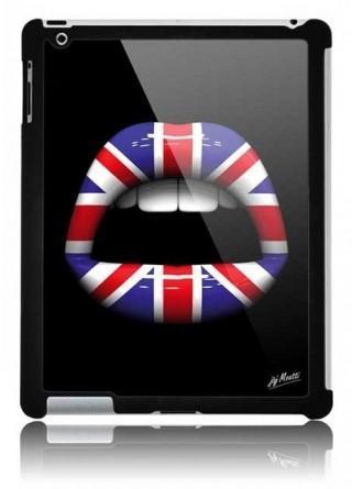 Coque ipad Lips 3D London