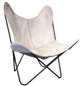 Housse en peau pour fauteuil