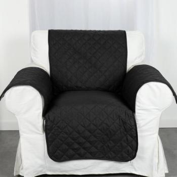 Protège fauteuil Club Noir