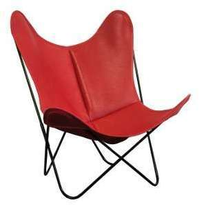 Housse en cuir pour fauteuil