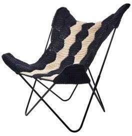 Housse en crochet pour fauteuil