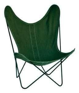 Housse en lin beige pour fauteuil