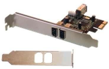 Carte PCI express firewire