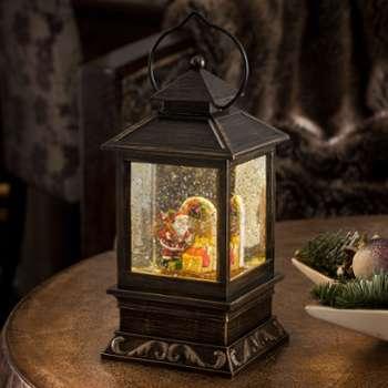 Lanterne décorative Père Noël