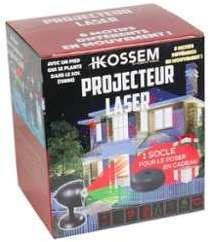 Projecteur Laser - 8 motifs