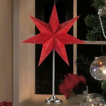 Belle lampe à poser en étoile