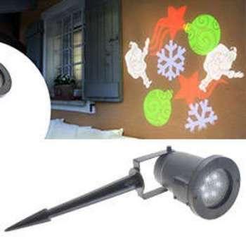 Projecteur noir LED motifs