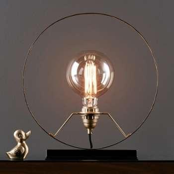 Lampe décorative circulaire