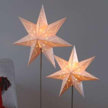 Duo d étoiles lumineuses à