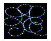 Cordon lumineux à LED multicolore
