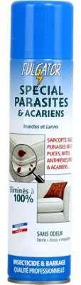Insecticide spécial parasites