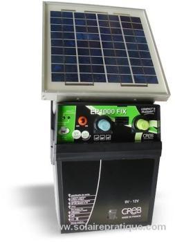 Electrificateur solaire EP1000FIX