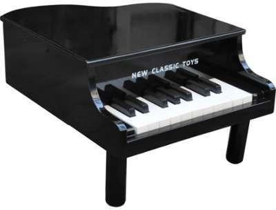 Mini-Piano à Queue Jouet Noir