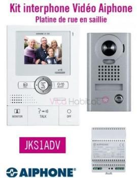 Kit portier vidéo AIPHONE