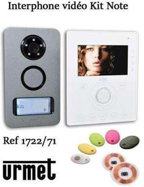 Interphone video URMET KIT