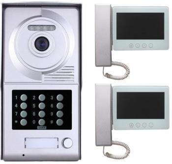 Interphone vidéo code et badges