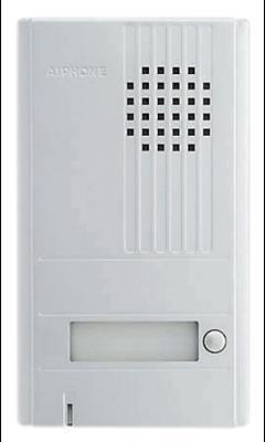 Platine saillie 1 bouton façade