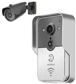 Portier vidéo IP avec caméra