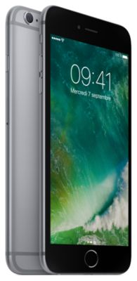 smartphone apple iphone 6s plus gris sideral 32go. Black Bedroom Furniture Sets. Home Design Ideas