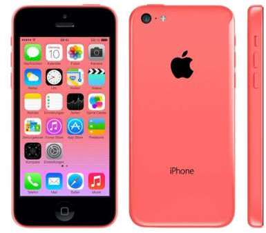 APPLE iPhone 5C 8Go Rose reconditionné