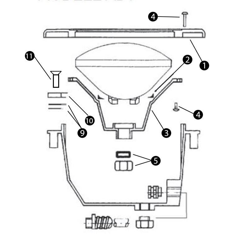 Recherche presse etoupe du guide et comparateur d 39 achat for Presse etoupe projecteur piscine