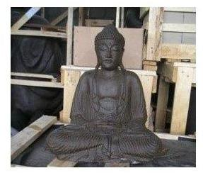 Statue Bouddha assis position