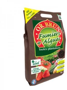 Or Brun - Fumier Algues Bio
