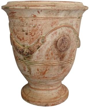 Vase Anduze patine ancienne
