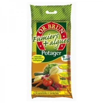 Or Brun - Fertilisant Potager