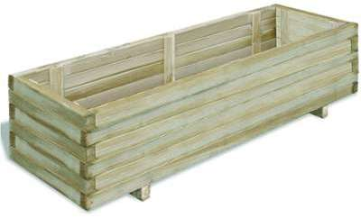 VidaXL Jardinière en bois