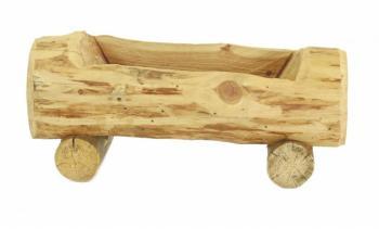 Jardinière rustique en bois