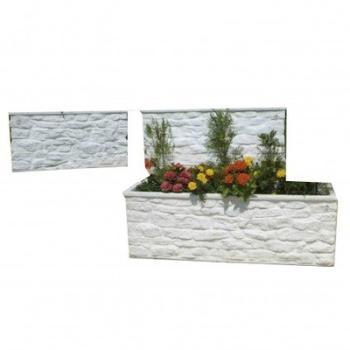 Jardiniere imitation muret