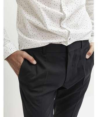 Pantalon costume marine homme