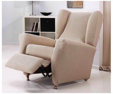 Housse de fauteuil relax unie
