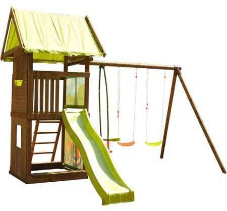soulet portique en bois nouko. Black Bedroom Furniture Sets. Home Design Ideas