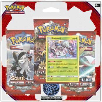 ASMODEE POKEMON - Pack 3 boosters