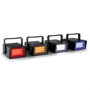 Mini stroboscope LED Set RGBW