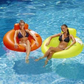 Fauteuil gonflable pour piscine
