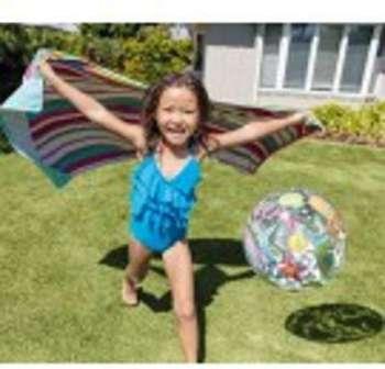 Ballon gonflable de piscine