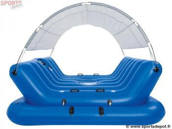 Bestway bche pour piscine autoportante ronde de 244 cm de for Piscine gonflable bestway