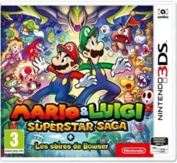 Jeu 3DS Nintendo Mario Luigi