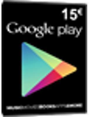 Carte cadeau Google Play -