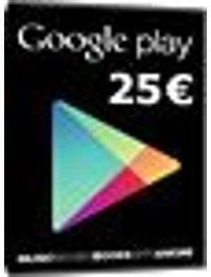 Carte cadeau Google Play -