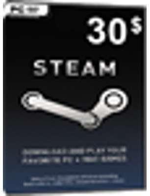 Steam Game Card 30 USD