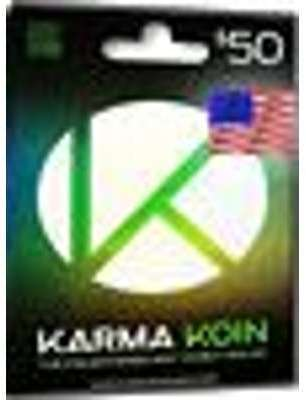 Karma Koin Card - 50 USD