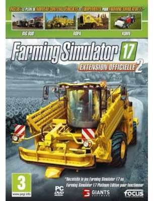 Jeu PC Focus Farming Simulator