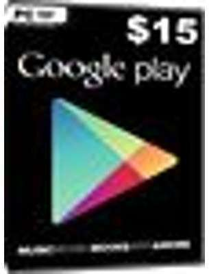 Google Play Card - 15 Dollar