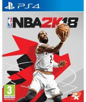 Jeu PS4 Take 2 NBA 2K18