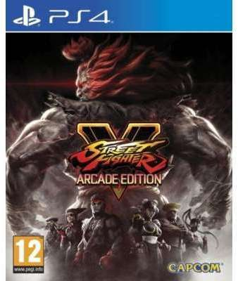 Jeu PS4 Capcom Street Fighter