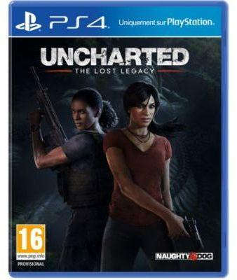 Jeu PS4 Sony Uncharted The